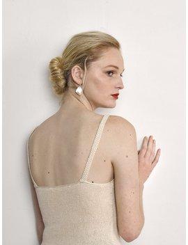 Ovna Ovich Roshlo Silk Cotton Hand Knit Singlet   Toi Toi by Garmentory