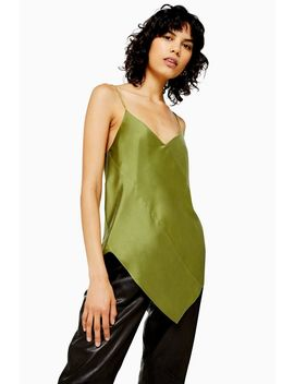 **Silk Spiral Camisole Top By Boutique by Topshop