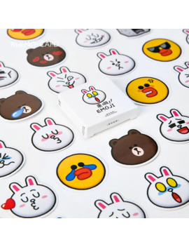 Mohamm 45 Pcs/Lot Emoji Diary Journal Korean Rilakkuma Rabbit Paper Cute Label Stickers Scrapbooking Japanese Stationery by Ali Express.Com