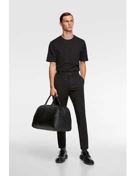 4 Way Traveller Chino Trousers Casual Pants Man by Zara