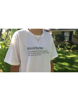 Monbebe Defintion Shirt by Etsy