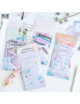 45pcs/Pack Watercolor Writable Stationery Bullet Journal Diary Paper Calendar Cute Stickers Scrapbooking Flakes School Supplies by Ali Express.Com