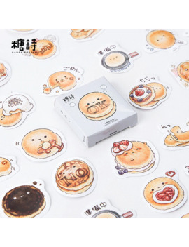 45 Pcs/Lot Bread Sticker Decoration Diy Scrapbooking Sticker Stationery Kawaii Handbook Notes Decorative Stickers by Ali Express.Com