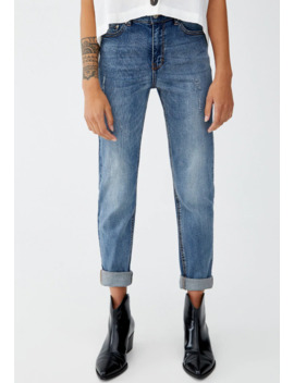 Mit Hohem Bund   Jeans Slim Fit by Pull&Bear