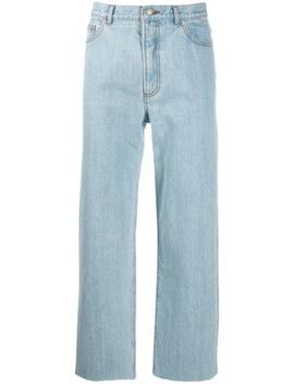 Cropped Jeans Med Lige Ben by A.P.C.