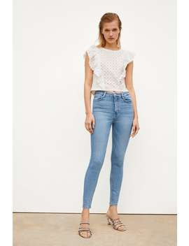 Vintage Jeggings Im Skinnyfit Mit Hohem Bund Alles Anzeigen Jeans Sale Damen by Zara