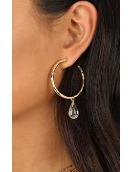 Good To You Earrings In Gold by Showpo Fashion