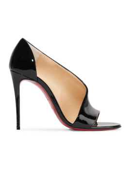 Phoebe 100 Patent Leather Pumps by Christian Louboutin
