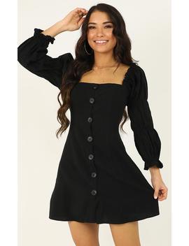 Something Else Dress In Black by Showpo Fashion