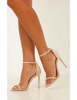 Billini   Andi Heels In Blush Micro by Showpo Fashion
