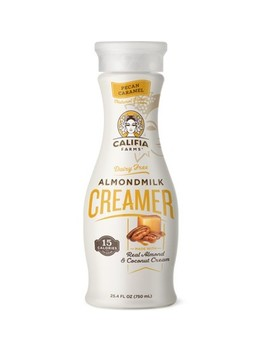 Califia Farms Pecan Caramel Almondmilk Creamer   25.4 Fl Oz by 25.4 Fl Oz