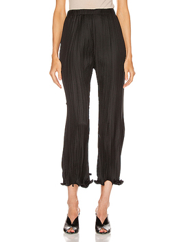 Pleated Wave Details Pant by Givenchy