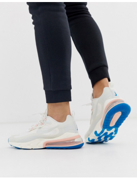 Nike Air Max 270 React Sneakers In White by Nike