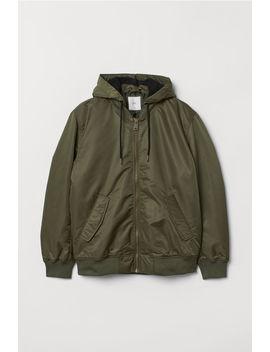 Kapüşonlu Dolgulu Pilot Ceketi by H&M