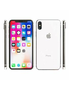 Apple I Phone X   64 Gb   Silver   Factory Gsm Unlocked At&T / T Mobile Smartphone by Apple