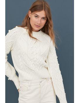 Pullover Misto Lana A Trecce by H&M