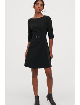 Dress With A Metal Buckle by H&M