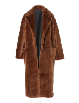 Love Reversible Shearling Coat by Common Leisure