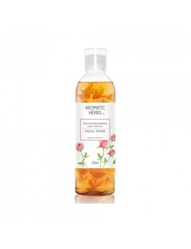 Rose Floral Petals Refreshing Deep Hydration Facial Toner 250 M L by Aromatic Herbs