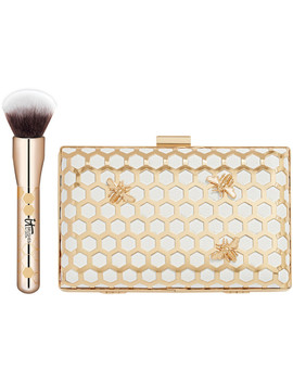 Your Most Beeautiful You! Foundation Brush &Amp; Clutch Set by It Brushes For Ulta