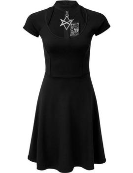 Sacred Sixx | Skater Dress by Killstar