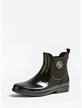 Rekha Patent Look Rain Boots by Guess