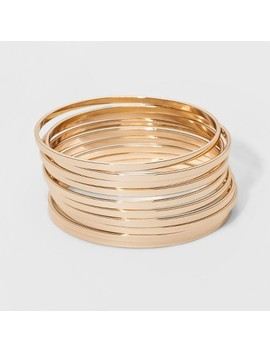 Bangle Bracelet 10pc   A New Day Gold by A New Day Gold