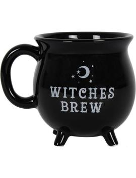 witches-brew-cauldron-|-mug by gothic-gifts