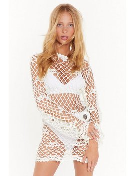 Catch Me If You Can Crochet Mini Dress by Nasty Gal