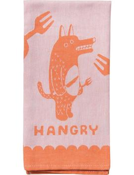 Hangry | Dish Towel by Blueq