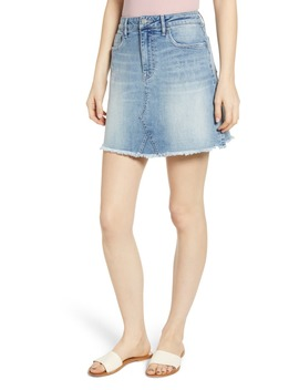 Denim Miniskirt by Vigoss
