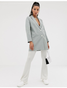 Asos Design Plisse Coat by Asos Design