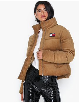 Tjw Cord Puffa Jacket by Tommy Jeans