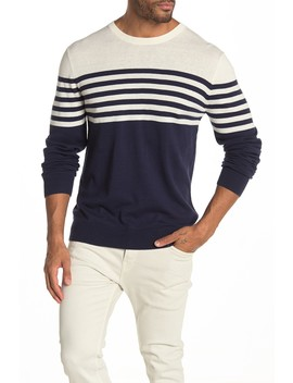 Striped Knit Sweater by Wallin & Bros