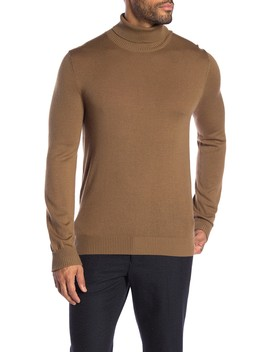 Slim Fit Merino Wool Turtleneck by Vince Camuto