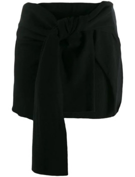 Knotted Skirt by Jacquemus