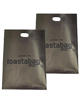 2 Lakeland Toastabags   Toasted Sandwiches In A Toaster by Lakeland