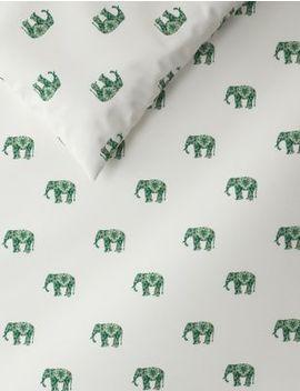 Elephant Print Bedding Set by Marks & Spencer