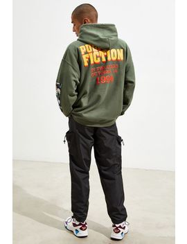 Pulp Fiction Puff Print Hoodie Sweatshirt by Urban Outfitters
