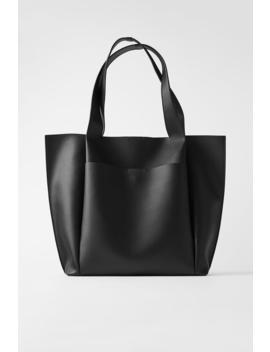 Minimal Shopper Large Bags Bags Woman by Zara