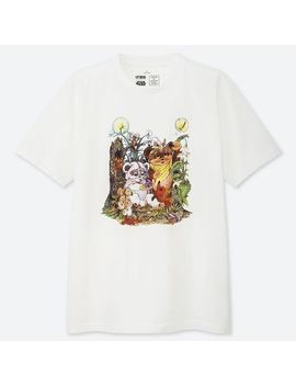 Men Mog Star Wars Ut (Short Sleeve Graphic T Shirt) by Uniqlo