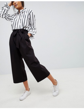 Asos Design Mix &Amp; Match Culotte With Tie Waist by Asos Design