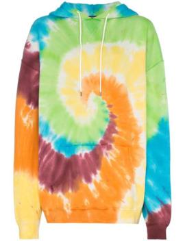 Tie Dye Oversized Hoodie by R13