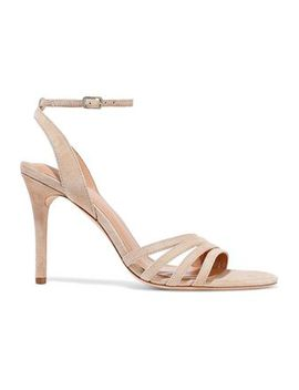 Kelly Suede Sandals by Halston Heritage