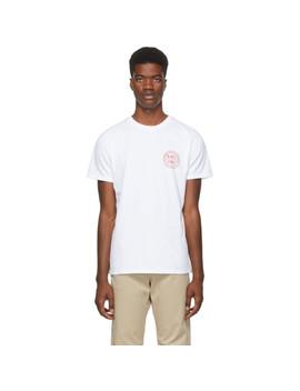 White Ollie T Shirt by A.P.C.