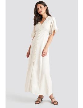 Marisa Dress Vit by Mango