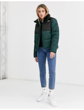 The North Face – Saikuru – Wattierte Jacke In Grün by Asos