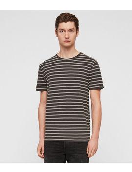 Figure Stripe Crew T Shirt by Allsaints