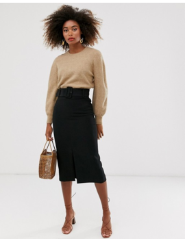 &Amp; Other Stories Knitted Sweater In Beige by & Other Stories