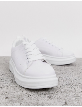 Zapatillas Blancas De Truffle Collection by Asos